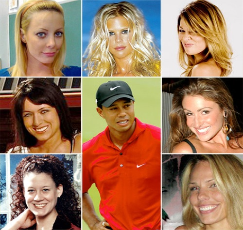 tiger woods girls